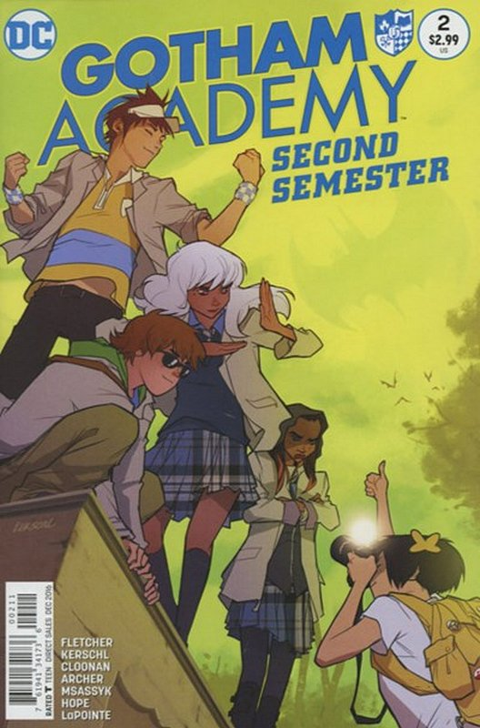 Cover of Gotham Academy: Second Semester #2. One of 250,000 Vintage American Comics on sale from Krypton!