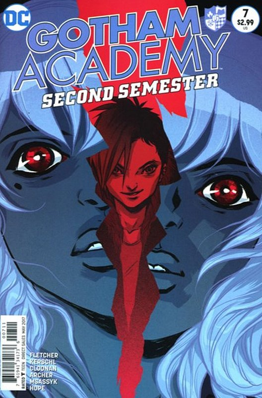 Cover of Gotham Academy: Second Semester #7. One of 250,000 Vintage American Comics on sale from Krypton!
