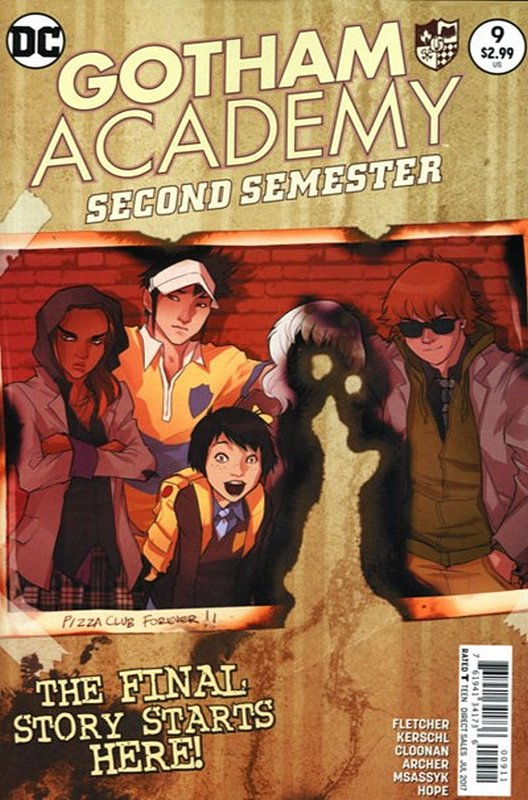 Cover of Gotham Academy: Second Semester #9. One of 250,000 Vintage American Comics on sale from Krypton!