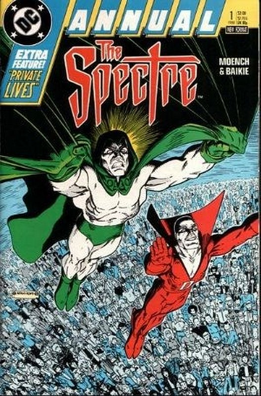 Cover of Spectre Annual (1988) #1. One of 250,000 Vintage American Comics on sale from Krypton!