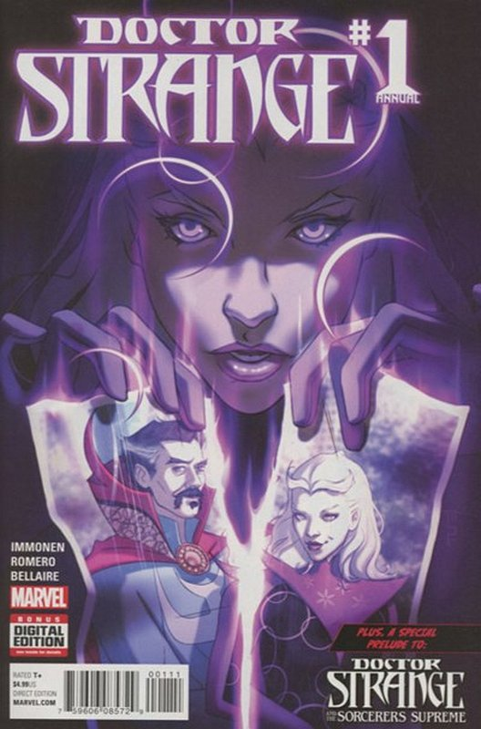 Cover of Doctor Strange Annual (2016) #1. One of 250,000 Vintage American Comics on sale from Krypton!