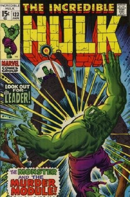 Cover of Incredible Hulk (Vol 2) #123. One of 250,000 Vintage American Comics on sale from Krypton!