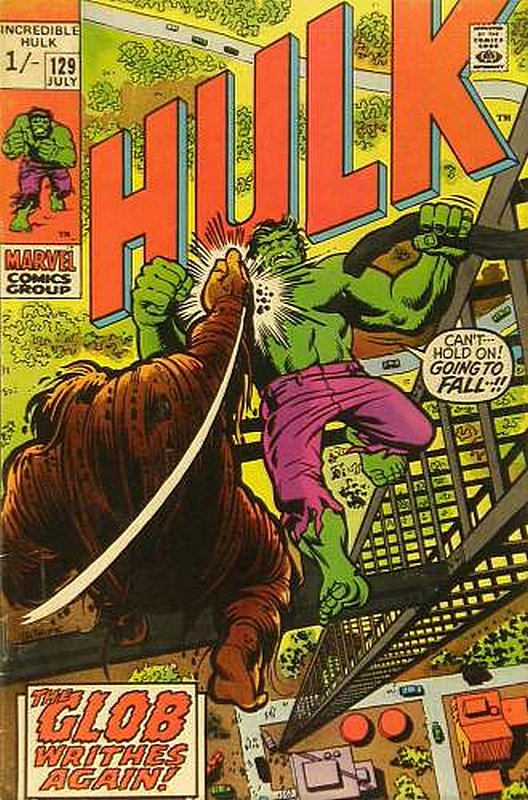 Cover of Incredible Hulk (Vol 2) #129. One of 250,000 Vintage American Comics on sale from Krypton!