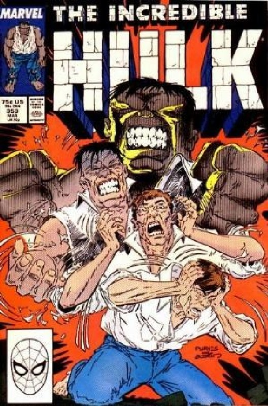 Cover of Incredible Hulk (Vol 2) #353. One of 250,000 Vintage American Comics on sale from Krypton!
