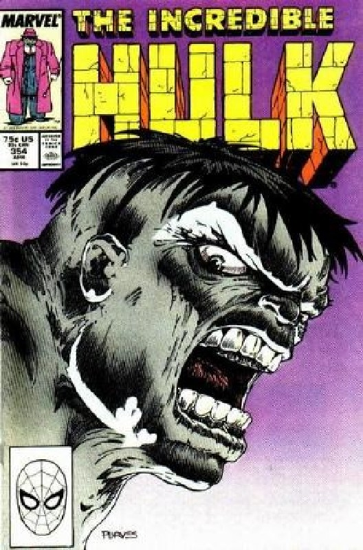 Cover of Incredible Hulk (Vol 2) #354. One of 250,000 Vintage American Comics on sale from Krypton!