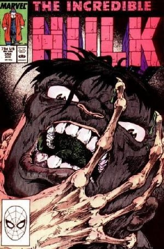 Cover of Incredible Hulk (Vol 2) #358. One of 250,000 Vintage American Comics on sale from Krypton!