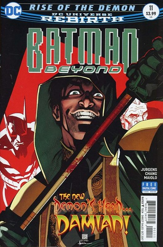 Cover of Batman Beyond (Vol 4) #11. One of 250,000 Vintage American Comics on sale from Krypton!
