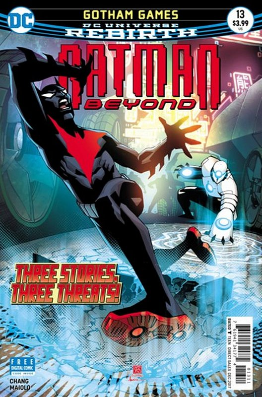 Cover of Batman Beyond (Vol 4) #13. One of 250,000 Vintage American Comics on sale from Krypton!