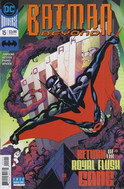 Cover of Batman Beyond (Vol 4) #15. One of 250,000 Vintage American Comics on sale from Krypton!