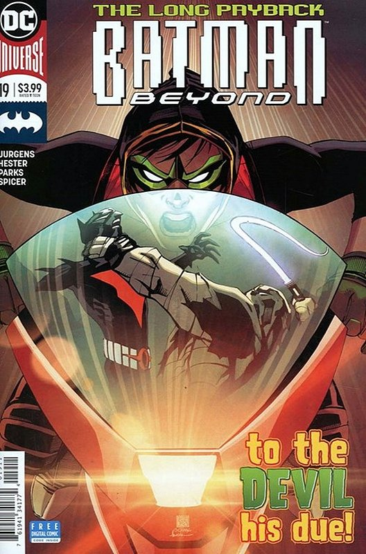 Cover of Batman Beyond (Vol 4) #19. One of 250,000 Vintage American Comics on sale from Krypton!