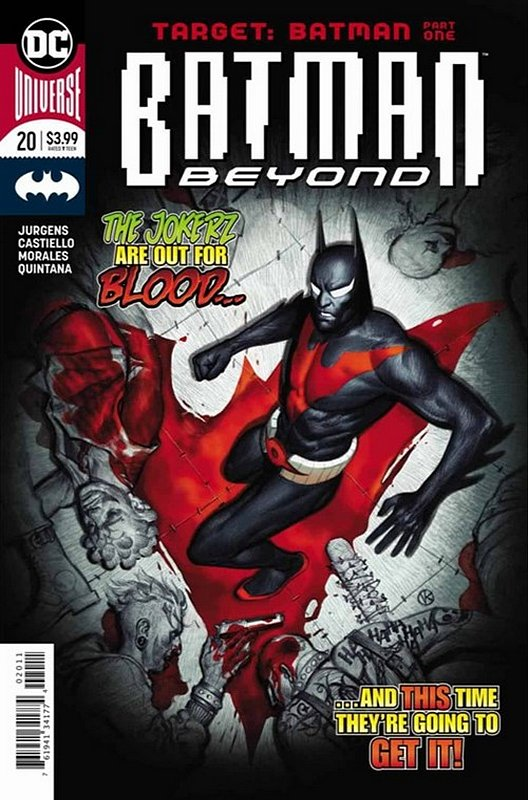 Cover of Batman Beyond (Vol 4) #20. One of 250,000 Vintage American Comics on sale from Krypton!