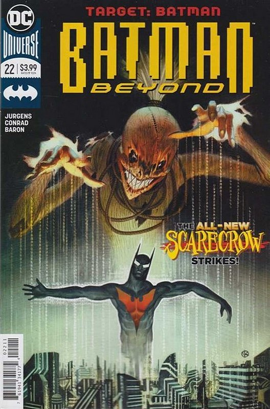 Cover of Batman Beyond (Vol 4) #22. One of 250,000 Vintage American Comics on sale from Krypton!