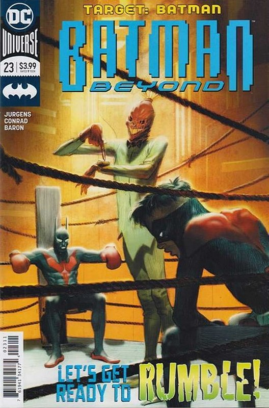 Cover of Batman Beyond (Vol 4) #23. One of 250,000 Vintage American Comics on sale from Krypton!