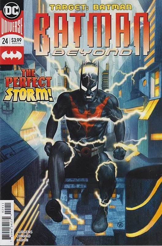 Cover of Batman Beyond (Vol 4) #24. One of 250,000 Vintage American Comics on sale from Krypton!