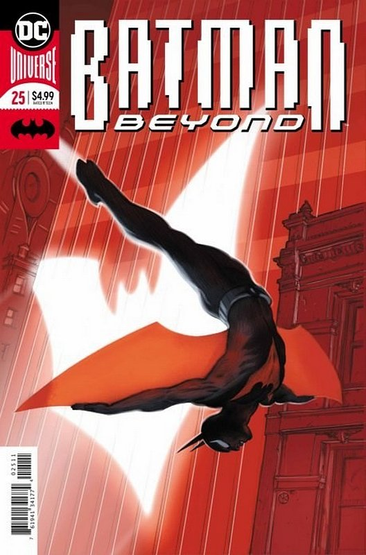 Cover of Batman Beyond (Vol 4) #25. One of 250,000 Vintage American Comics on sale from Krypton!