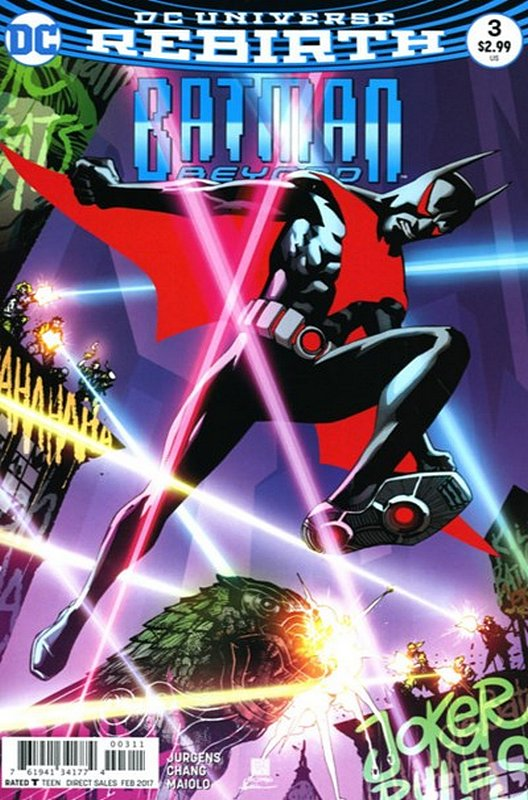 Cover of Batman Beyond (Vol 4) #3. One of 250,000 Vintage American Comics on sale from Krypton!