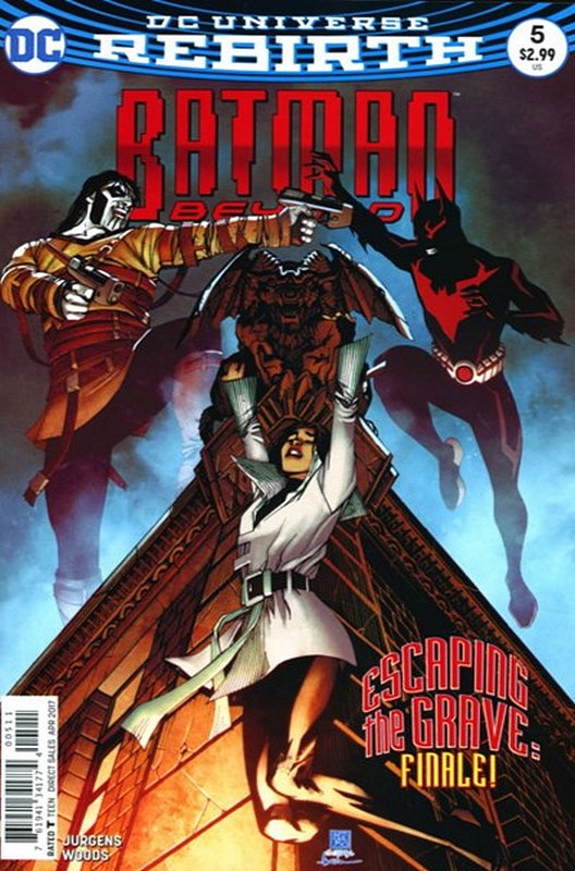 Cover of Batman Beyond (Vol 4) #5. One of 250,000 Vintage American Comics on sale from Krypton!