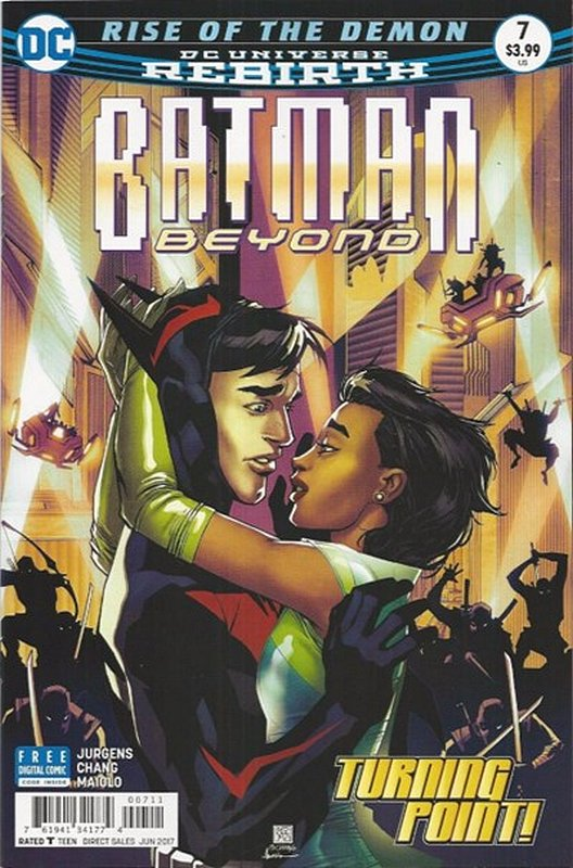 Cover of Batman Beyond (Vol 4) #7. One of 250,000 Vintage American Comics on sale from Krypton!