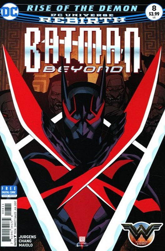 Cover of Batman Beyond (Vol 4) #8. One of 250,000 Vintage American Comics on sale from Krypton!
