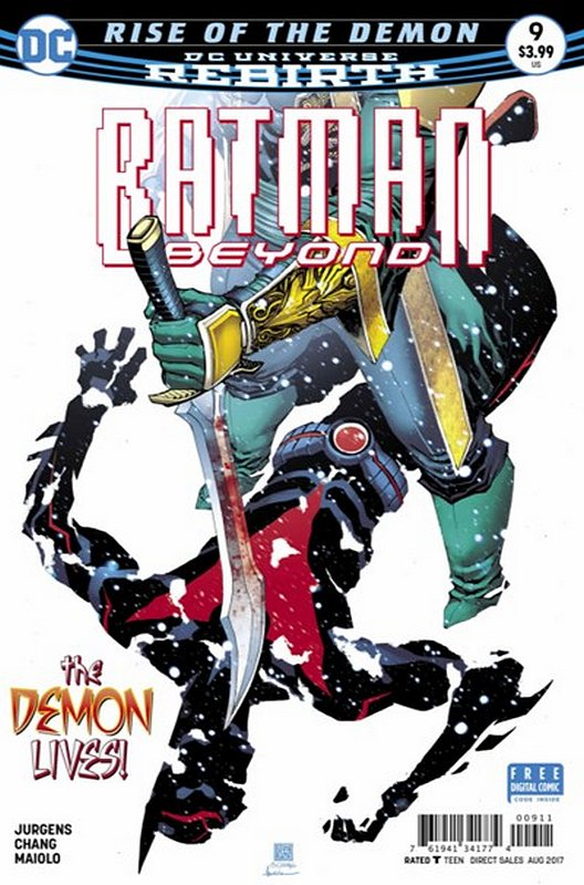 Cover of Batman Beyond (Vol 4) #9. One of 250,000 Vintage American Comics on sale from Krypton!