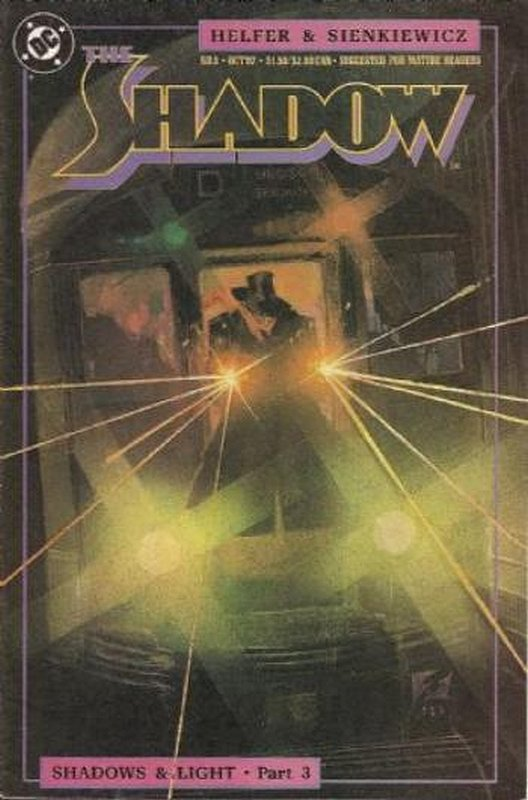 Cover of Shadow (Vol 2) The #3. One of 250,000 Vintage American Comics on sale from Krypton!