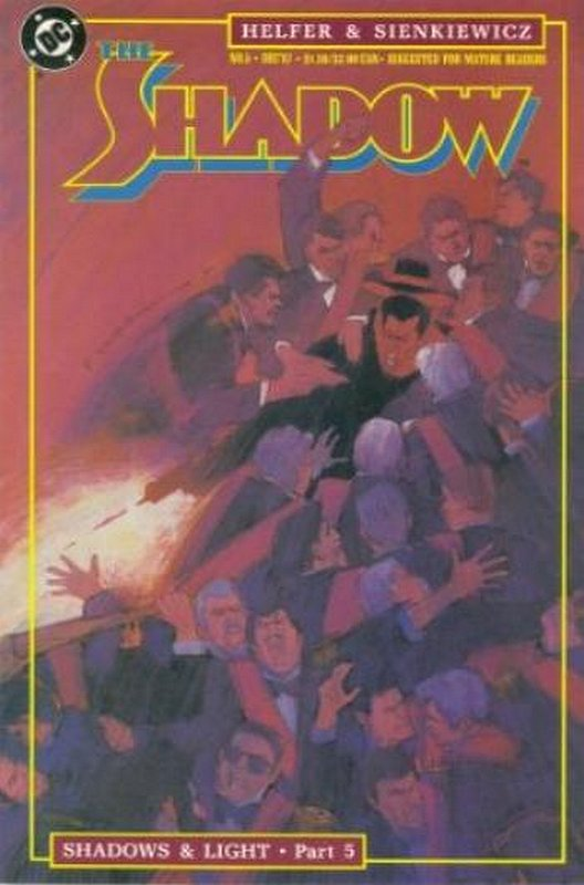Cover of Shadow (Vol 2) The #5. One of 250,000 Vintage American Comics on sale from Krypton!