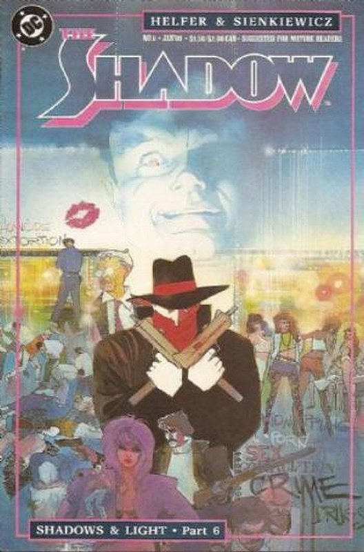 Cover of Shadow (Vol 2) The #6. One of 250,000 Vintage American Comics on sale from Krypton!