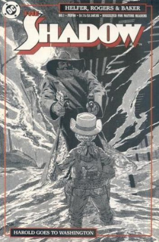 Cover of Shadow (Vol 2) The #7. One of 250,000 Vintage American Comics on sale from Krypton!
