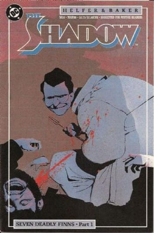 Cover of Shadow (Vol 2) The #8. One of 250,000 Vintage American Comics on sale from Krypton!