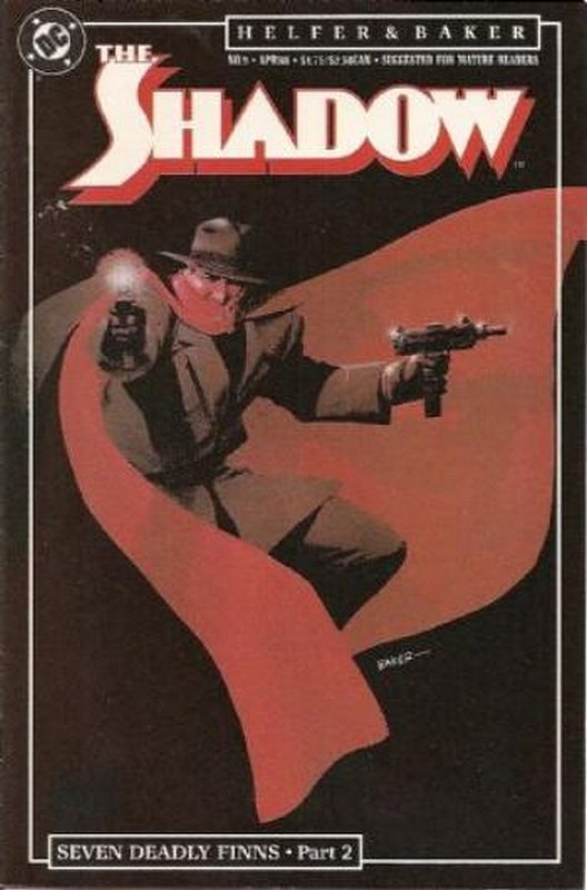 Cover of Shadow (Vol 2) The #9. One of 250,000 Vintage American Comics on sale from Krypton!