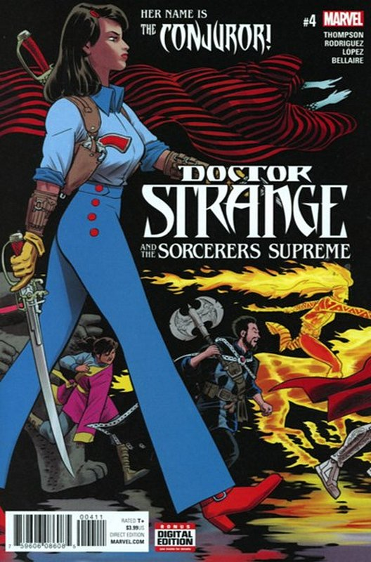 Cover of Doctor Strange (Vol 5) Sorcerers Supreme #4. One of 250,000 Vintage American Comics on sale from Krypton!