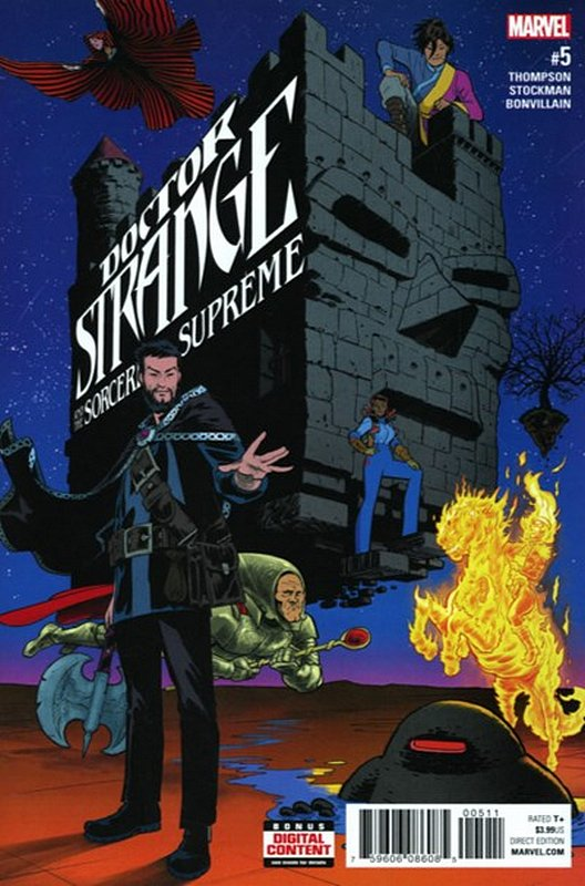 Cover of Doctor Strange (Vol 5) Sorcerers Supreme #5. One of 250,000 Vintage American Comics on sale from Krypton!