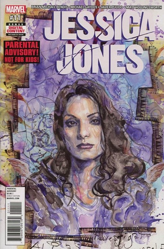 Cover of Jessica Jones (Vol 1) #11. One of 250,000 Vintage American Comics on sale from Krypton!
