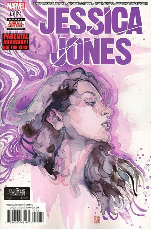 Cover of Jessica Jones (Vol 1) #12. One of 250,000 Vintage American Comics on sale from Krypton!