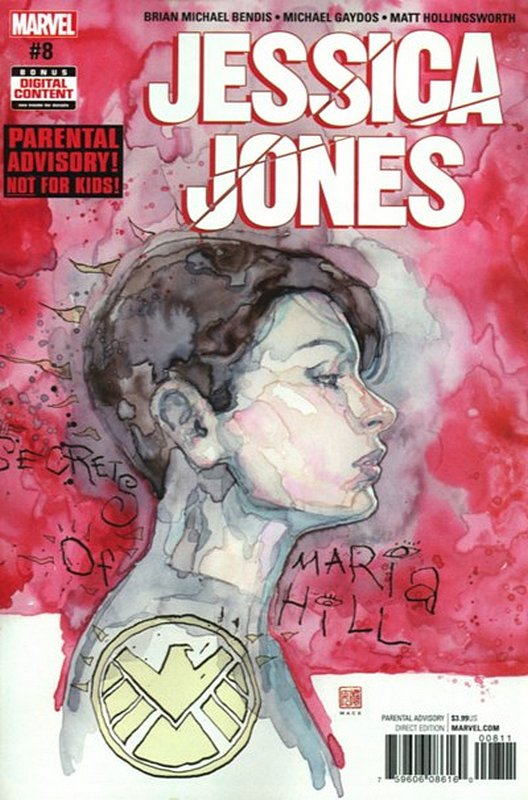 Cover of Jessica Jones (Vol 1) #8. One of 250,000 Vintage American Comics on sale from Krypton!
