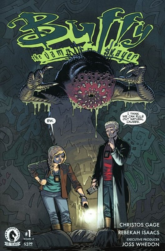 Cover of Buffy the Vampire Slayer: Season 11 #1. One of 250,000 Vintage American Comics on sale from Krypton!
