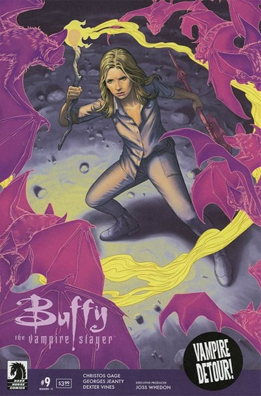 Cover of Buffy the Vampire Slayer: Season 11 #9. One of 250,000 Vintage American Comics on sale from Krypton!
