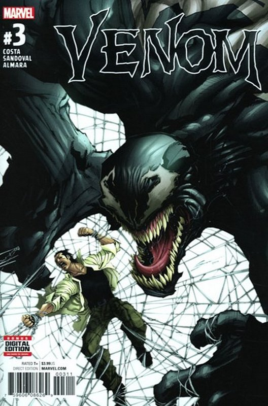 Cover of Venom (Vol 3) #3. One of 250,000 Vintage American Comics on sale from Krypton!