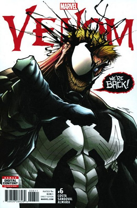 Cover of Venom (Vol 3) #6. One of 250,000 Vintage American Comics on sale from Krypton!