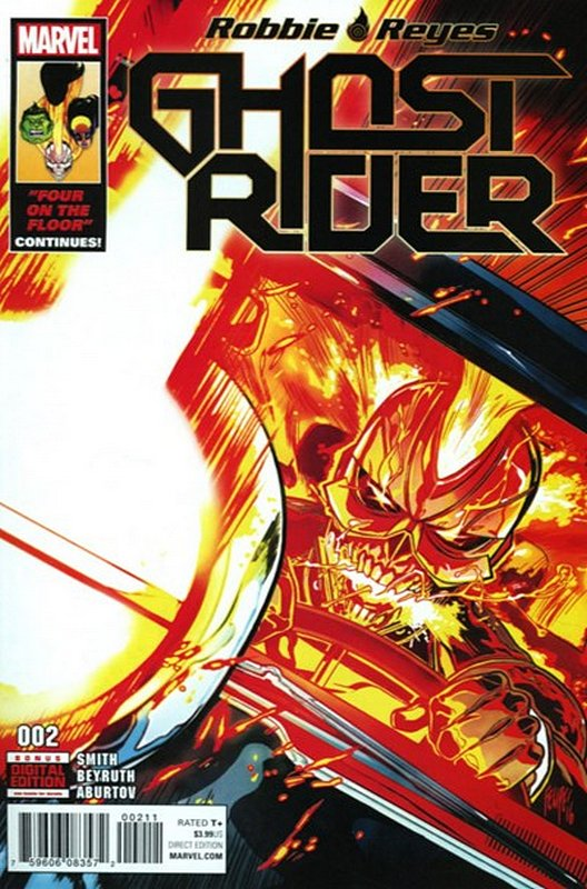 Cover of Ghost Rider (Vol 6) #2. One of 250,000 Vintage American Comics on sale from Krypton!