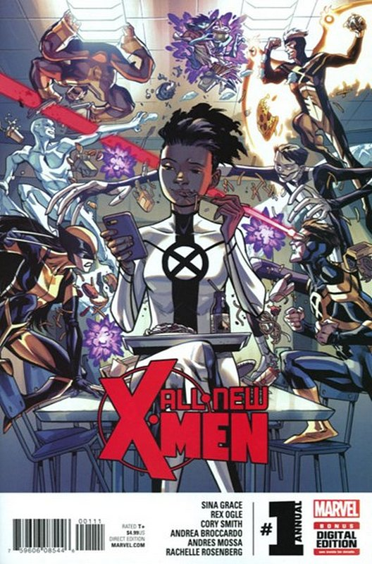 Cover of X-Men (Vol 1) All-New Annual (2016) #1. One of 250,000 Vintage American Comics on sale from Krypton!