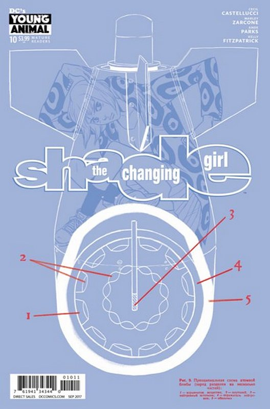 Cover of Shade: The Changing Girl (Vol 1) #10. One of 250,000 Vintage American Comics on sale from Krypton!