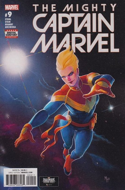 Cover of Mighty Captain Marvel (Vol 1) The #9. One of 250,000 Vintage American Comics on sale from Krypton!