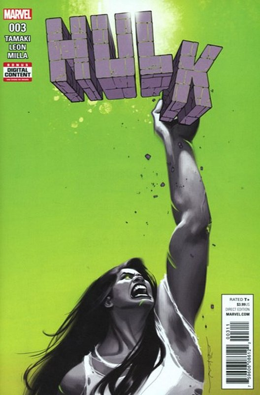 Cover of Hulk (Vol 2) #3. One of 250,000 Vintage American Comics on sale from Krypton!
