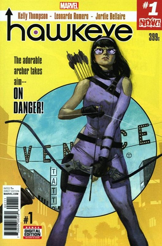 Cover of Hawkeye (Vol 3) #1. One of 250,000 Vintage American Comics on sale from Krypton!