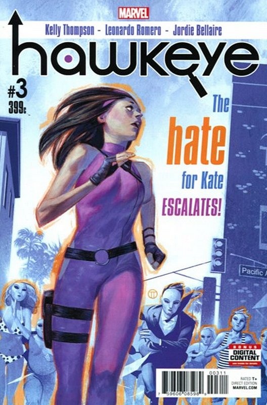 Cover of Hawkeye (Vol 3) #3. One of 250,000 Vintage American Comics on sale from Krypton!