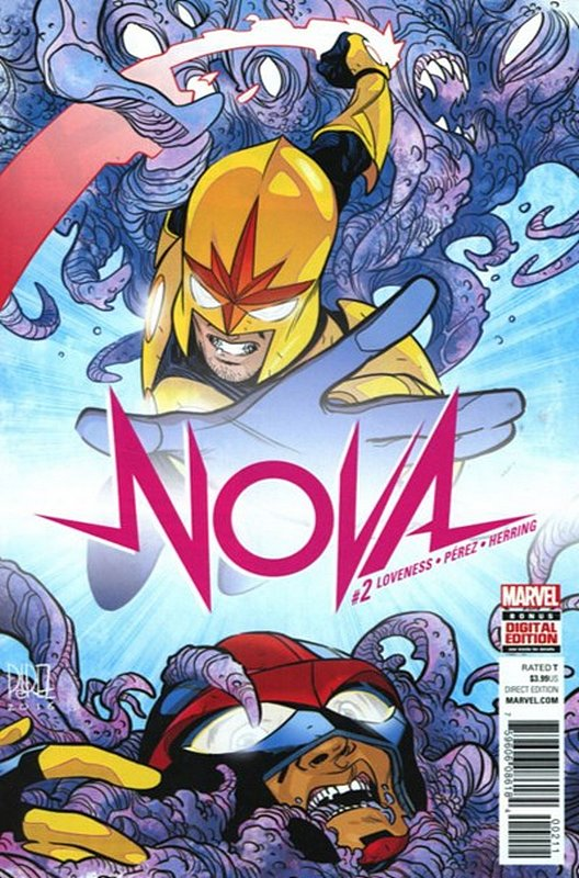 Cover of Nova (Vol 7) #2. One of 250,000 Vintage American Comics on sale from Krypton!