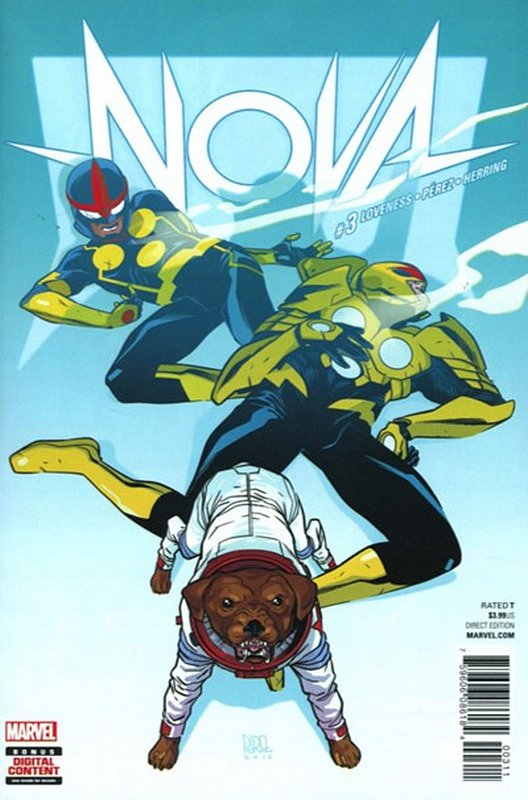 Cover of Nova (Vol 7) #3. One of 250,000 Vintage American Comics on sale from Krypton!