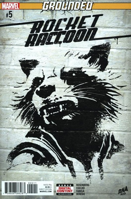 Cover of Rocket Raccoon (Vol 2) #5. One of 250,000 Vintage American Comics on sale from Krypton!