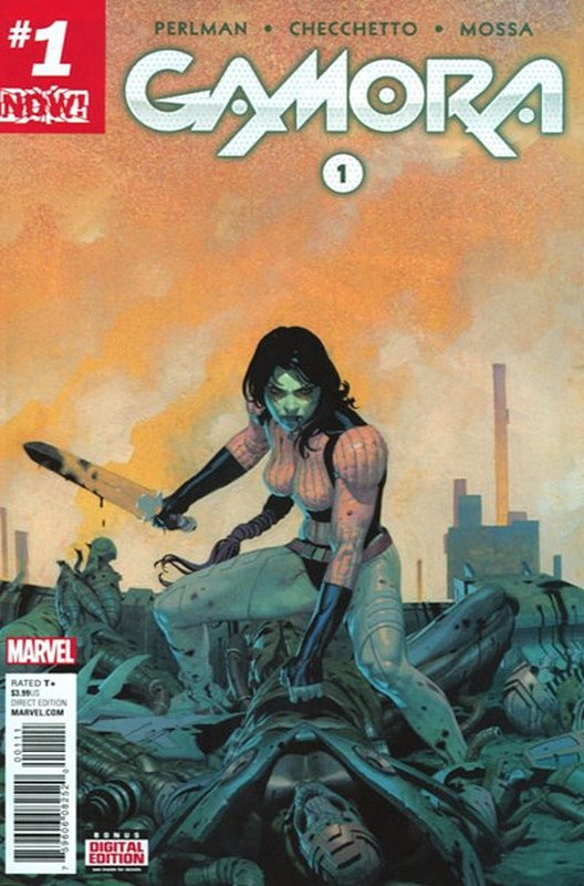 Cover of Gamora (Vol 1) #1. One of 250,000 Vintage American Comics on sale from Krypton!